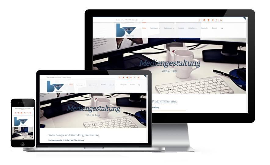 Webdesign blic-voraus